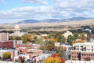 Boise Metro Chamber - Photo to Share - Downtown Boise in Fall 3 | by Boise Metro Chamber