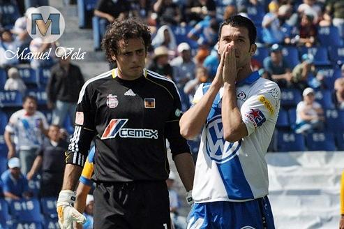 DSC_0126 El equipo Puebla FC derroto 4-0 a Tigres de la UANL (Categoría Sub 20) con un Hat-Trick (tres goles) de Aarón Padilla por LAE Manuel Vela