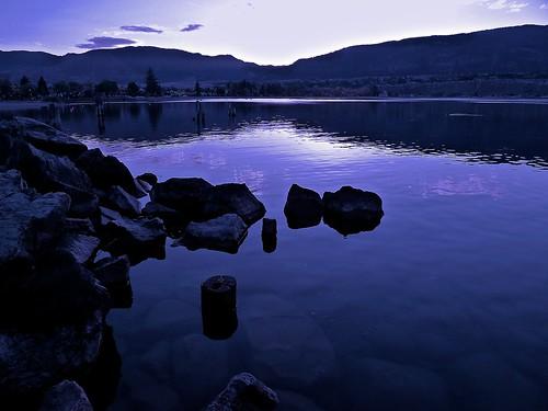 monochrome okanagan penticton britishcolumbia canada panasonic dmclx5 lx5 jasbond007 nigeldawson copyrightnigeldawson2011 beach blue lake landscape