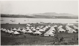 Sarpi rest camp & hospitals on West Mudros peninsula