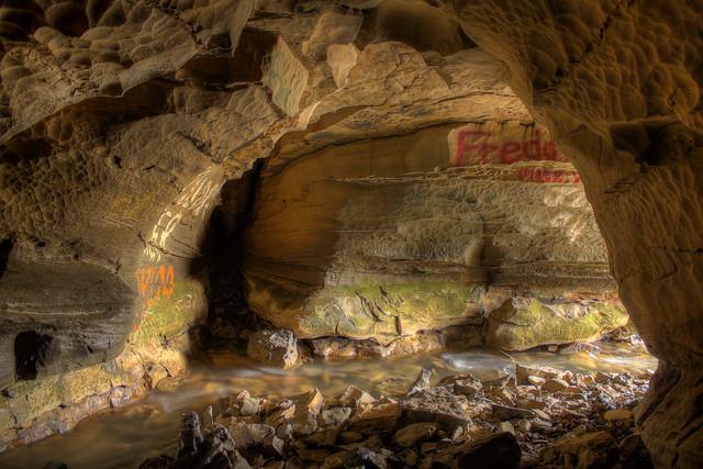 Garretts Mill Cave 1, Overton Co, TN