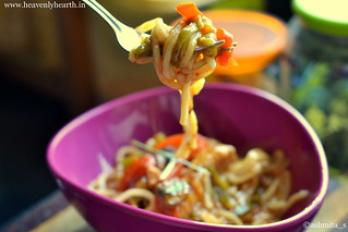 Spoonful of thai red curry noodles | by ashmita_s