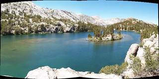 0160 Bishop Pass Trail - Long Lake island panorama | by _JFR_