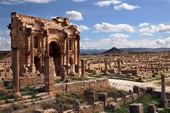 The Arch of Trajan - Timgad, Algeria