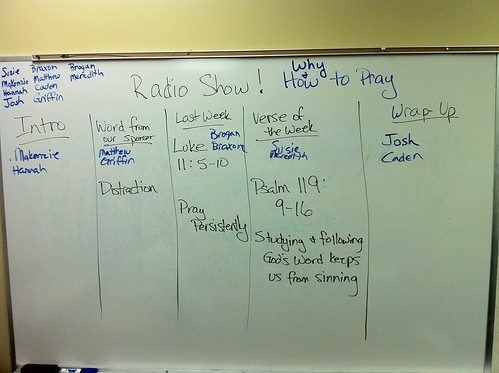 Radio Show Plan | by Wesley Fryer