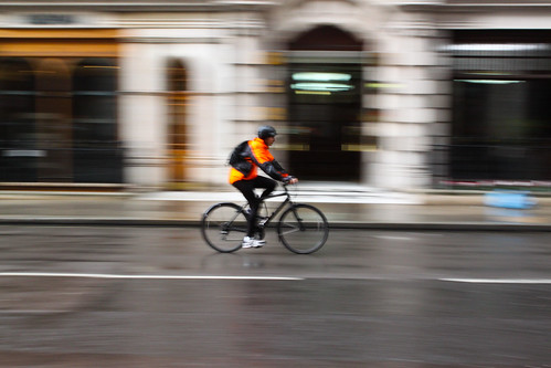 Cycling Blur (London Town) | by Geraint Rowland Photography