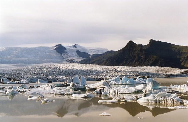 Jokulsarlon, Iceland, 2000 August