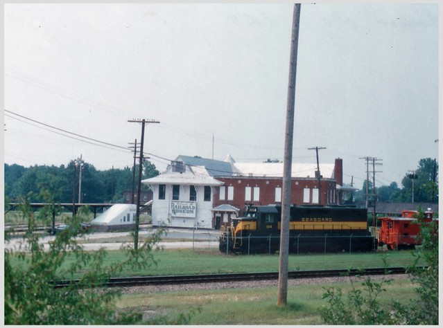 Hamley NC ~ Start up of the Railroad Museum ~ Film 93
