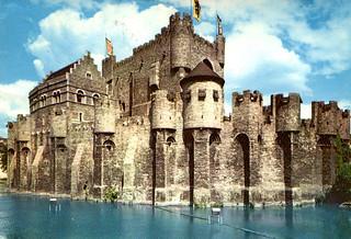 Ghent - Count's Castle (Postcard)