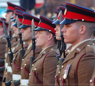 2nd Battalion Duke of Lancaster Regiment Freedom of West Lancs Borough Parade   by Matthew and Heather Wright