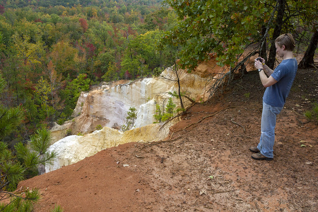 Clinton Elmore, Overlook, Providence Canyon State Park, Stewart County, Georgia