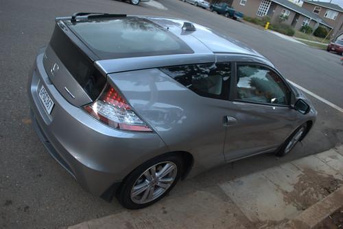 Carspotting Oceanside:  2012 Honda CR-Z Hybrid Photo