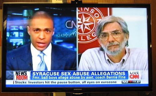 Rich Lewis live on CNN