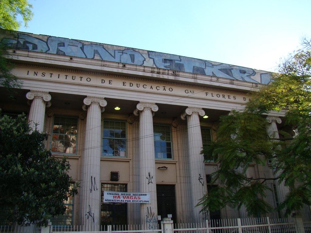 Instituto De Educação General Flores Da Cunha Conhecido Co