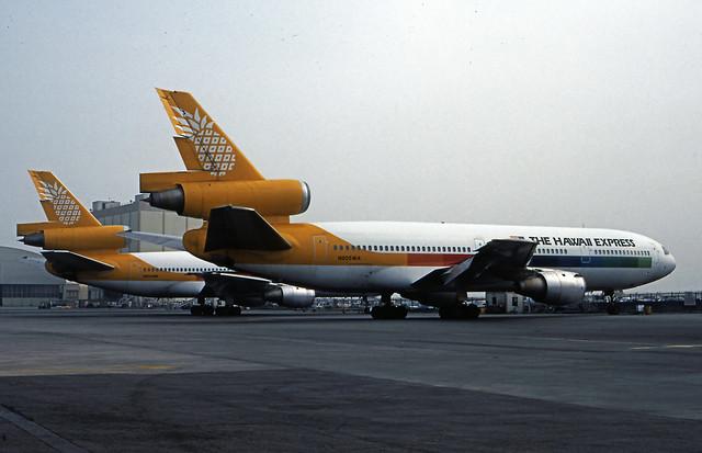 Hawaii Express, McDonnell Douglas DC-10-10 1.84 436A