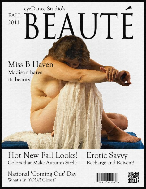 Beauté Magazine Cover by nataraj_hauser / eyeDance