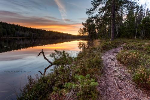 morning lake norway sunrise norge path explorer skandinavien norwegen noruega scandinavia noreg skandinavia 2011 ef1740mmf4lusm canoneos5dmarkii mortenprom