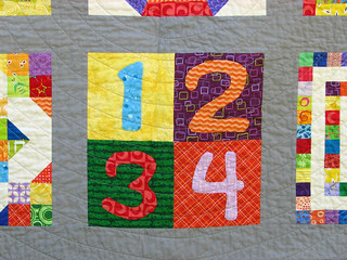 Closeup of Numbers | by KCQuilts
