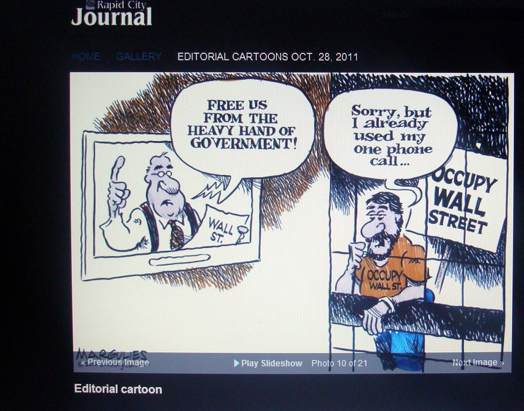 Political Cartoon From the Rapid City (SD) Journal: The Pr