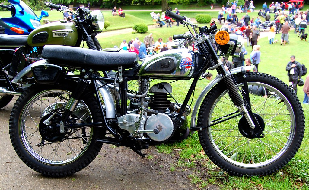 THE DOT MOTORCYCLE.VILLIERS SINGLE CYLINDER TWO STROKE. UK… | Flickr