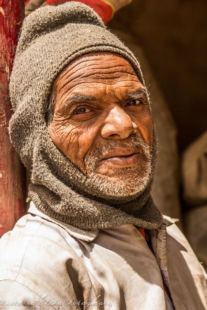 Bihari Worker in Ladakh