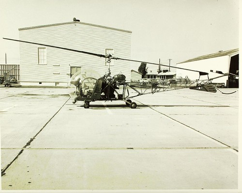 Bell HTL-4 BuNo128908 parked on flight line NHHS Photo | by San Diego Air & Space Museum Archives