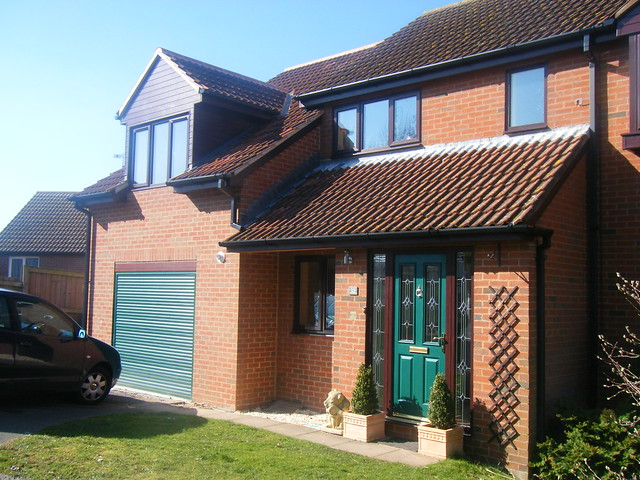 <p>Two storey extension and garage.</p>