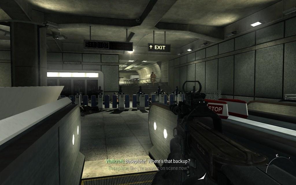 Call of Duty - Modern Warfare 3 - London Underground