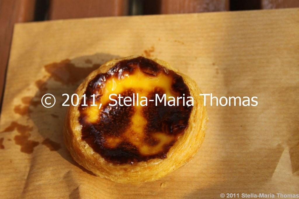 2011 MACAU -  LORD STOW'S CAFE EGG CUSTARD TART 001