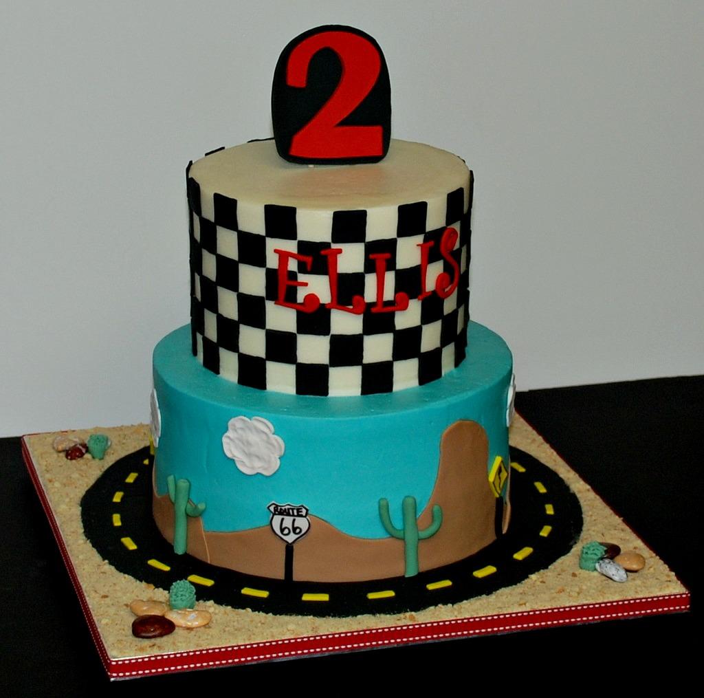 Brilliant Cars Themed Birthday Cake A Cars Themed Birthday Cake For Flickr Personalised Birthday Cards Xaembasilily Jamesorg