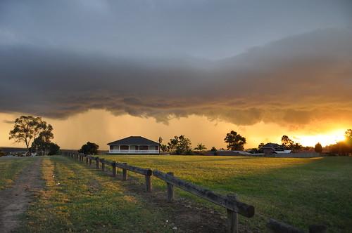 nov sunset storm nsw standrews 2010