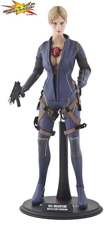 Hot Toys Jill Valentine Battle Suit Figure 1 Just Finish
