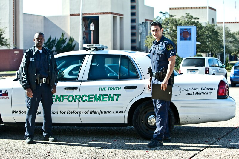 Dallas Police Department & the 420 Truth Car | theDFWNorml