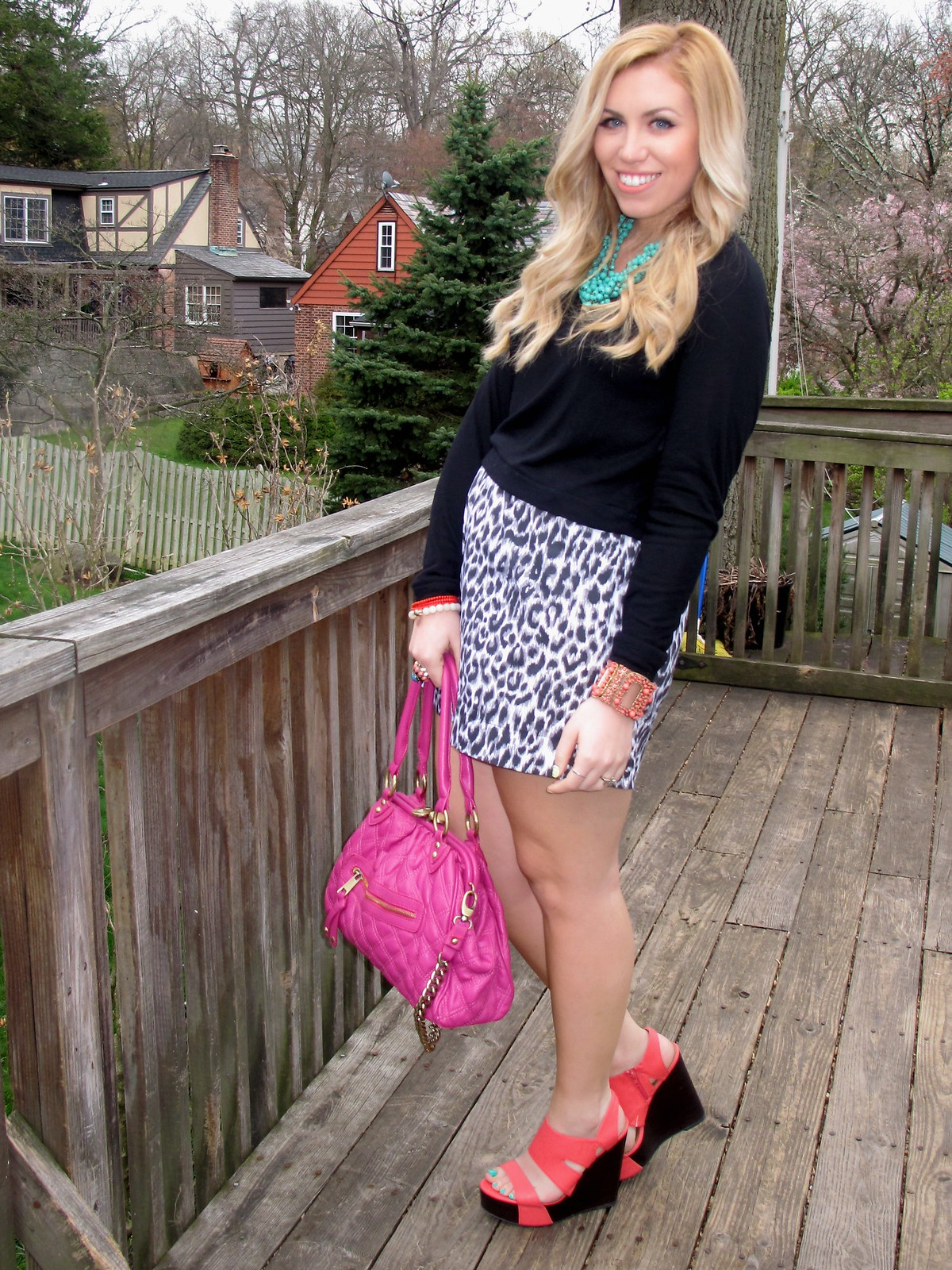 2012 Leopard Mini Skirt Outfit Inspiration | A Look Back at 10 Years of Blogging Living After Midnite Blogger Jackie Giardina