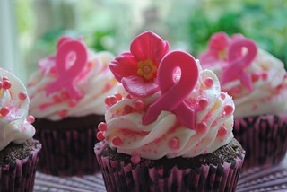Breast Cancer Cupcakes | by DixieBelleCupcakeCafe