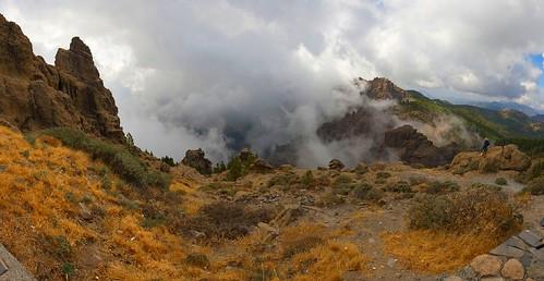 La Caldera de Tirajana (Hoya de Tunte) y el Mar de Nubes en Gran Canaria Islas Canarias | by El Coleccionista de Instantes