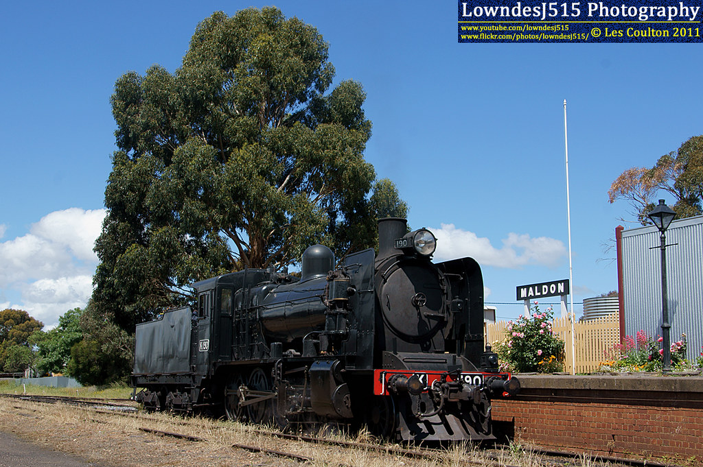 K190 at Maldon by LowndesJ515