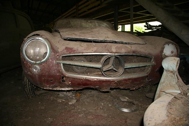 Mercedes 190 SL Cabrio