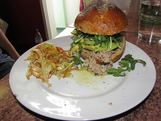 Homemade lemon tuna sandwich! | by beforeweage