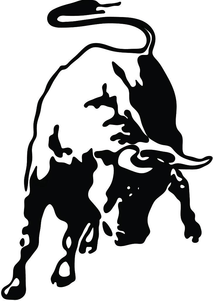 Lamborghini Bull Drawn In Rhino Touched Up Using Photosho