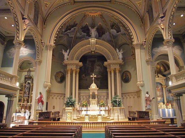 Historic St. Mary's Catholic Church, Albany, NY