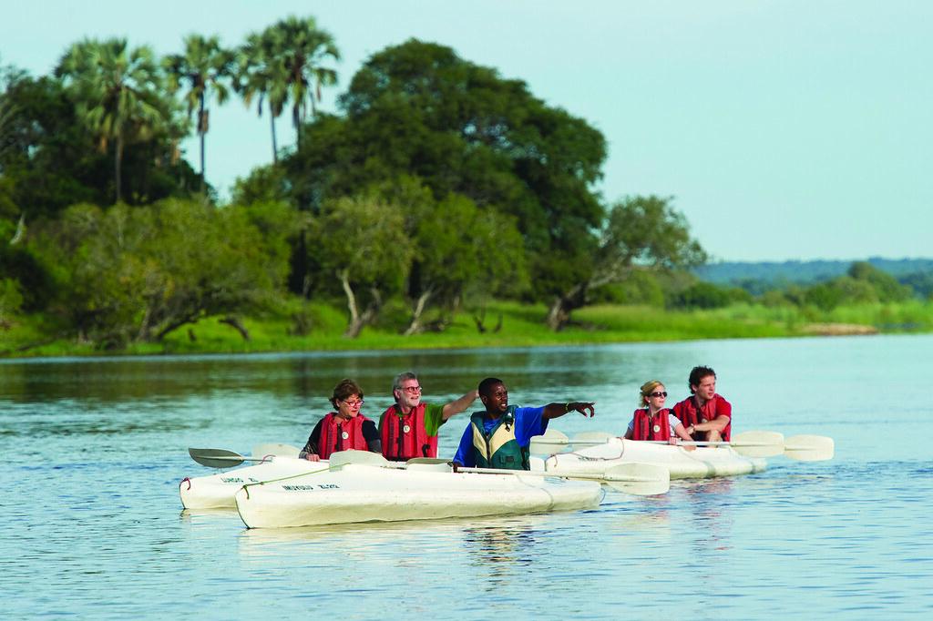 Makora Quest Canoe Safari Zambezi   Victoria Falls - Guides