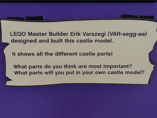 LEGO Duplo Castle built by LEGO Master Builder Erik Varszegi   by bleyledawn