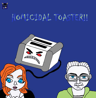 Homicidal Toaster Front Cover