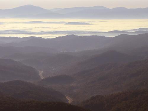 landscape northcarolina blueridgeparkway westernnorthcarolina southernappalachians ccbyncsa elkmountainoverlook