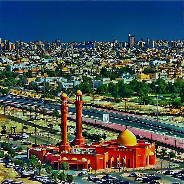 Masjid at Salhiya, Kuwait City  Taken from 17th Floor, Fou… | Flickr