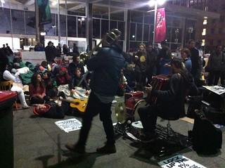 Occupy Sydney - Jazz band rocks Martin Place | by timlonghurst