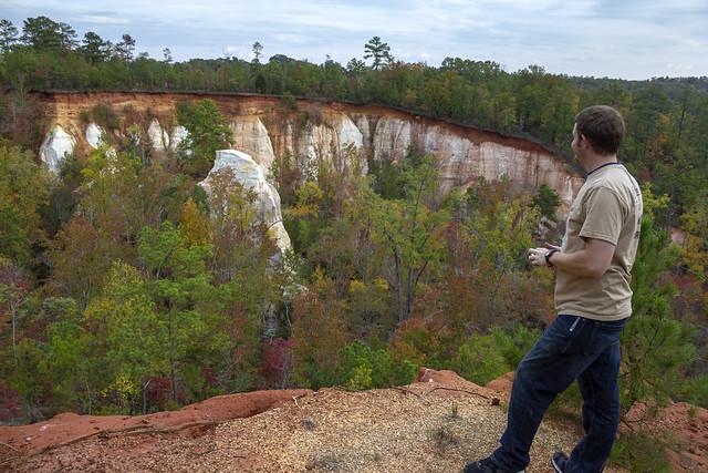 Travis Smith, Providence Canyon State Park, Stewart County, Georgia