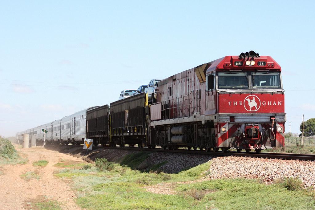 NR 75 on Ghan by Malleeroute