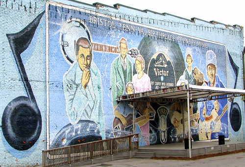 Birthplace of Country Music Mural - Bristol, TN | by SeeMidTN.com (aka Brent)